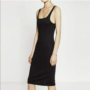NWOT Fitted Midi Dress